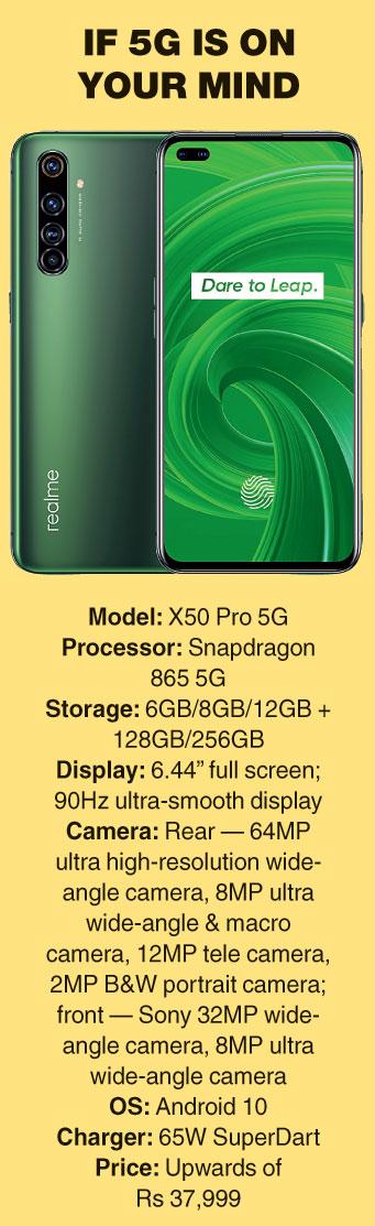 X50 Pro 5G specs