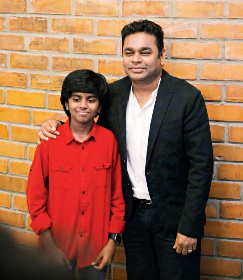 Oscar is not the ultimate goal, I want him (Lydian) to go beyond it. I want him to become the Lang Lang of India.  — A.R. Rahman