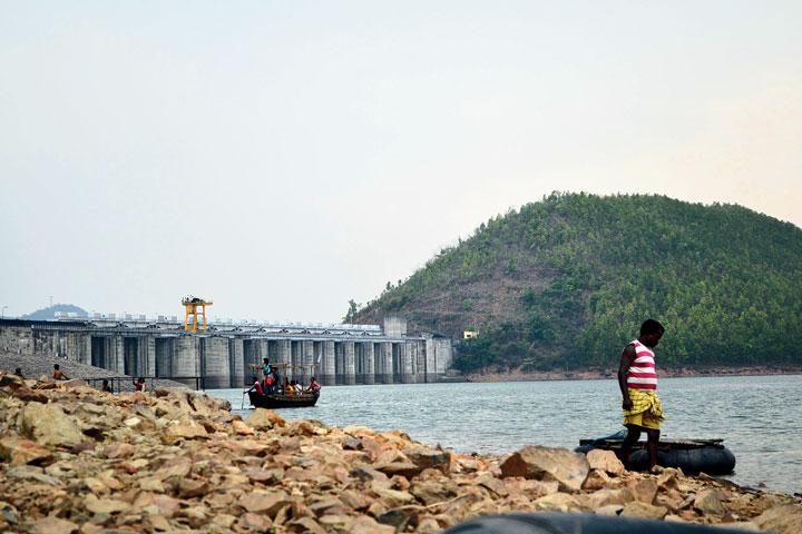 The Chandil dam in Seraikela-Kharsawan.