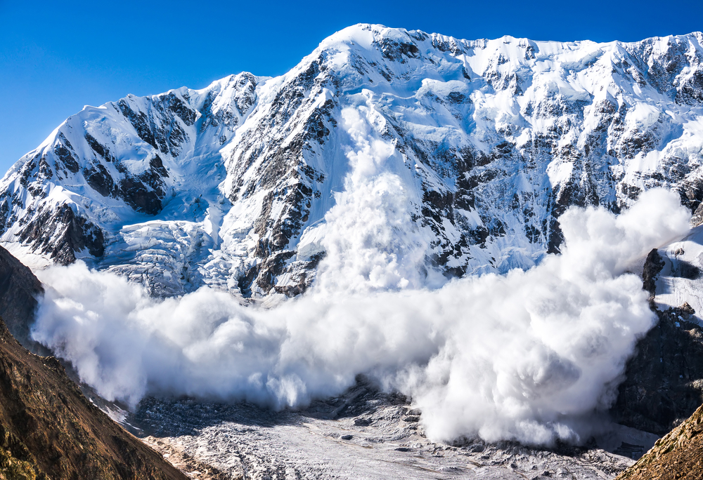 (Representative image) Another avalanche struck a village in the Gagangir area of Ganderbal district in which five civilians were killed while four others were rescued, police said.