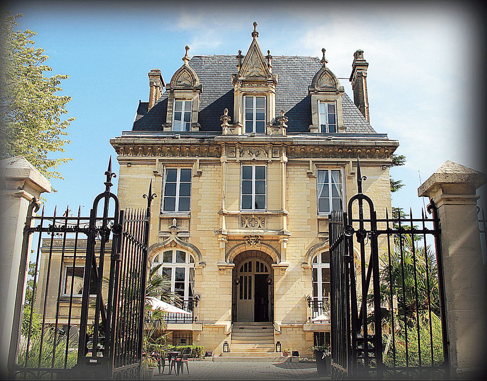 The Gonet mansion on the Avenue de Champagne in Epernay is the place to be if you want to learn about Michel Gonet's champagnes
