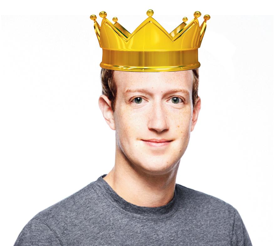 Power people: Facebook's Mark Zuckerberg