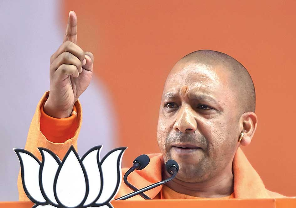 Twitter blocks two Yogi Adityanath tweets, heeding Election Commission advice