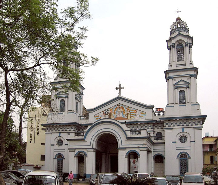 The Catholic Cathedral of Calcutta
