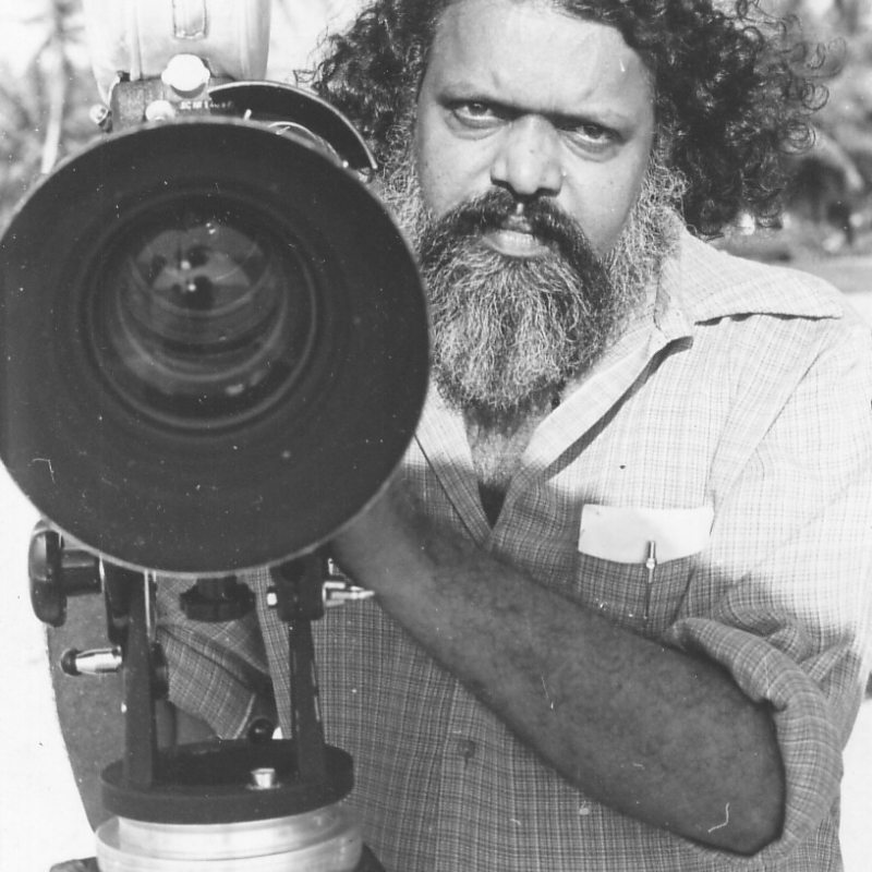 Aravindan wasn't professionally trained, but he is still counted with the FTII-trained film-makers and hailed by 'new wave' film-makers such as Mani Kaul