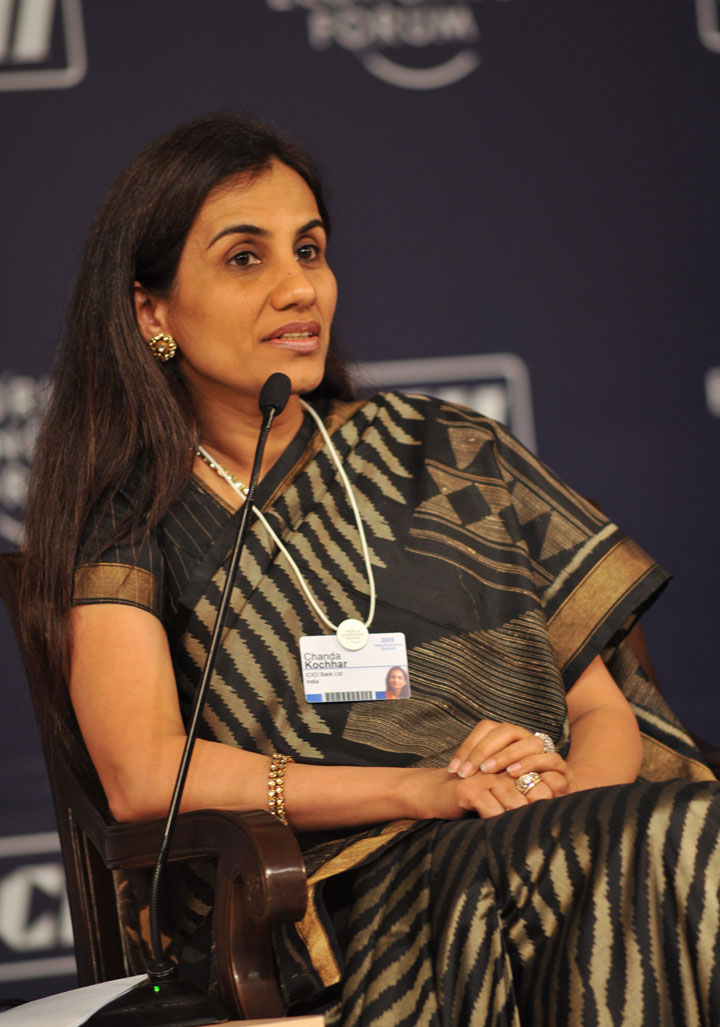 Chanda Kochhar (in picture) filed a petition challenging her sacking, months after she voluntarily left the bank