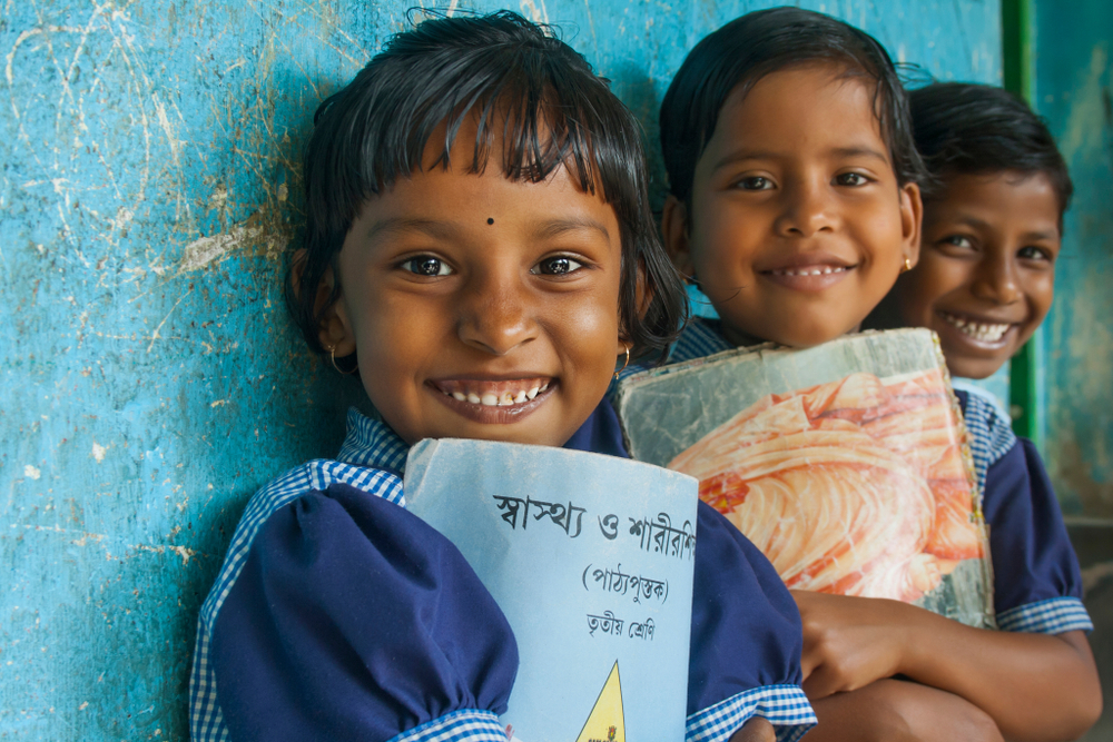 Girl children in India face many social inequalities from lack of access to education, to early marriage