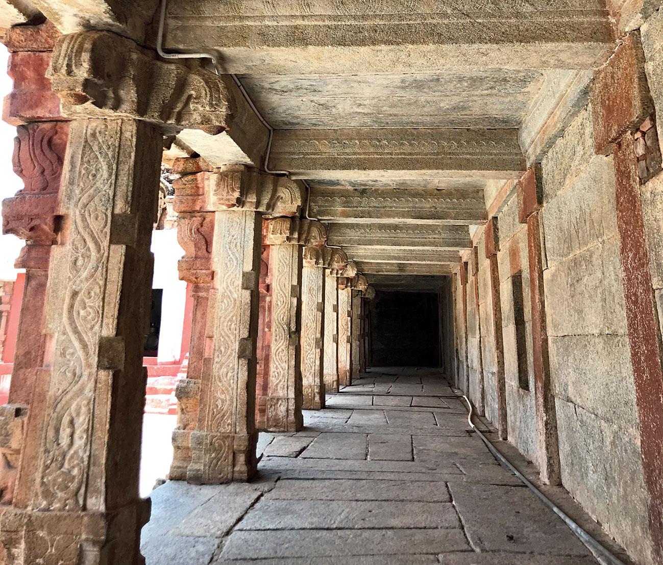 The 9th century Bhoganandishwara Temple
