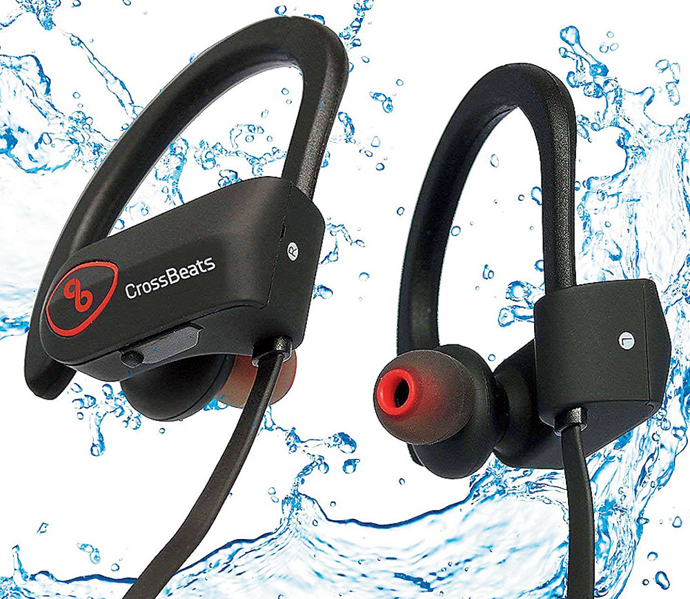 Plantronics Backbeat 350, Crossbeats Wave Waterproof Bluetooth Earphones