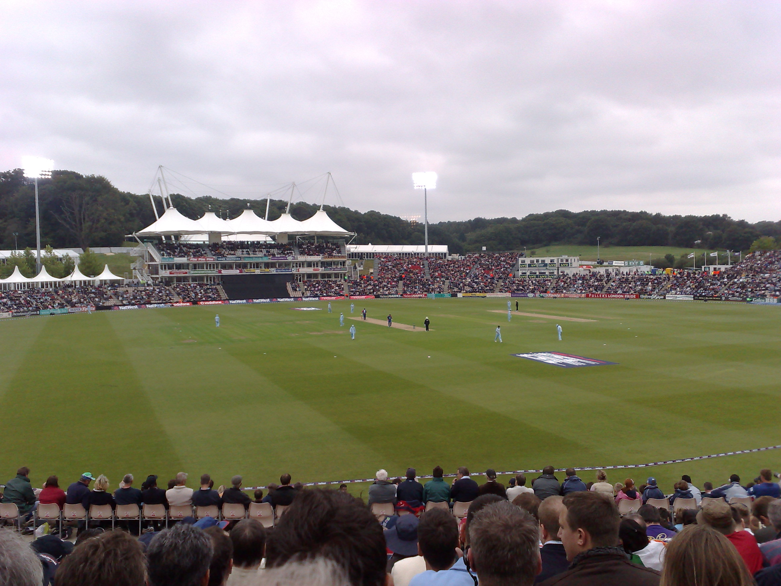 File photo of an England versus India cricket match
