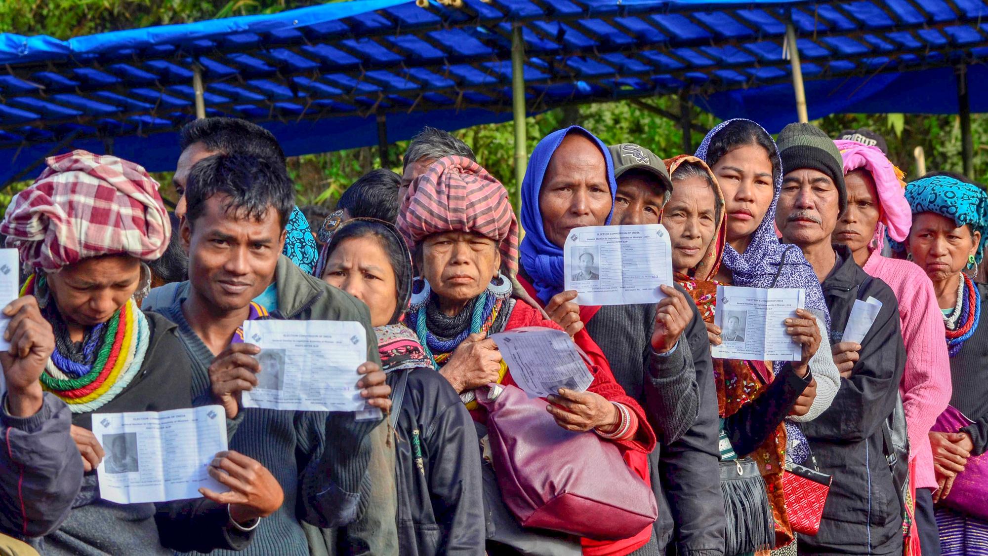 Brotherhood in Mizoram as displaced Brus vote