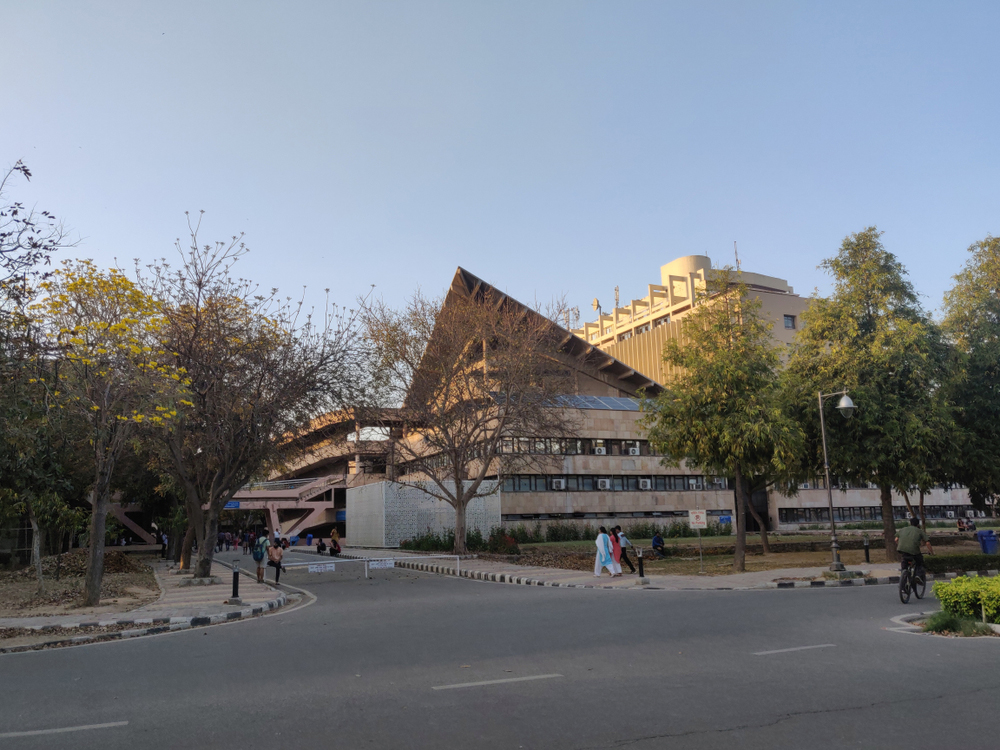 A view of the Indian Institute of Technology Delhi. The human resource development ministry has asked the IITs to submit records of the research papers written by their teachers, and identify those who have not published any paper in a reputed journal in the last three years
