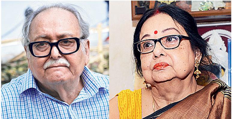 Soumitra Chatterjee and Madhabi Mukherjee star in Anik Dutta's film Borunbabur Bondhu, which releases today