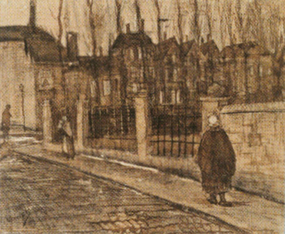 Street scene, 'Paddemoes', 1882