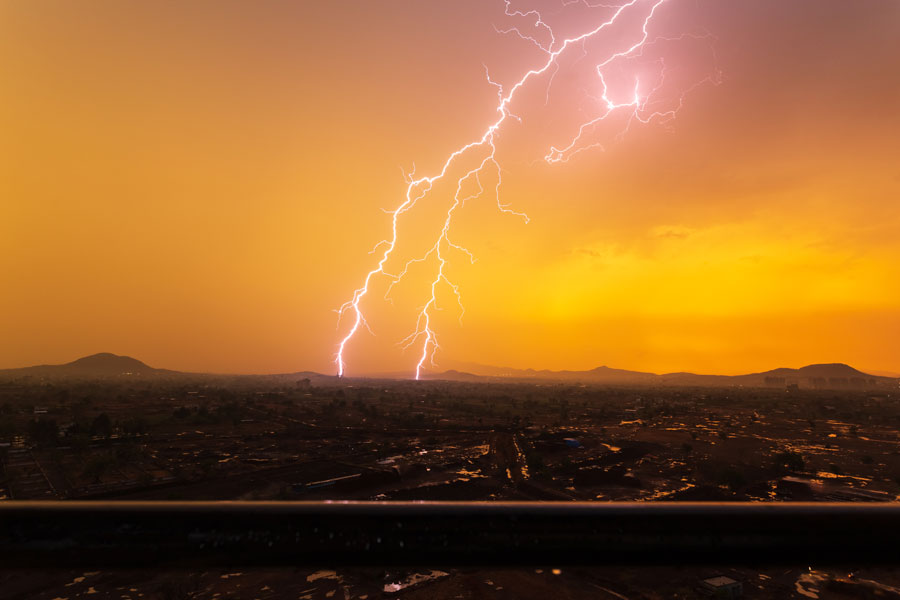 Both Ranchi and Patna Met Centres of IMD on Thursday afternoon issued forecast of thunderstorms accompanied by lightning at isolated places over southern and central Jharkhand