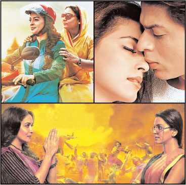 I want to speak of those where I put my heart and soul and they weren't the biggest successes. The latest one being Chalk N Duster.... Phir Bhi Dil Hai Hindustani we made with a lot of heart. Gulaab Gang... I loved myself in it