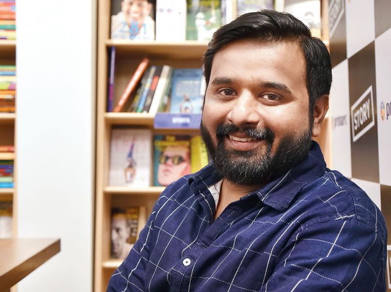 Sudeep Nagarkar at Story in Elgin Road