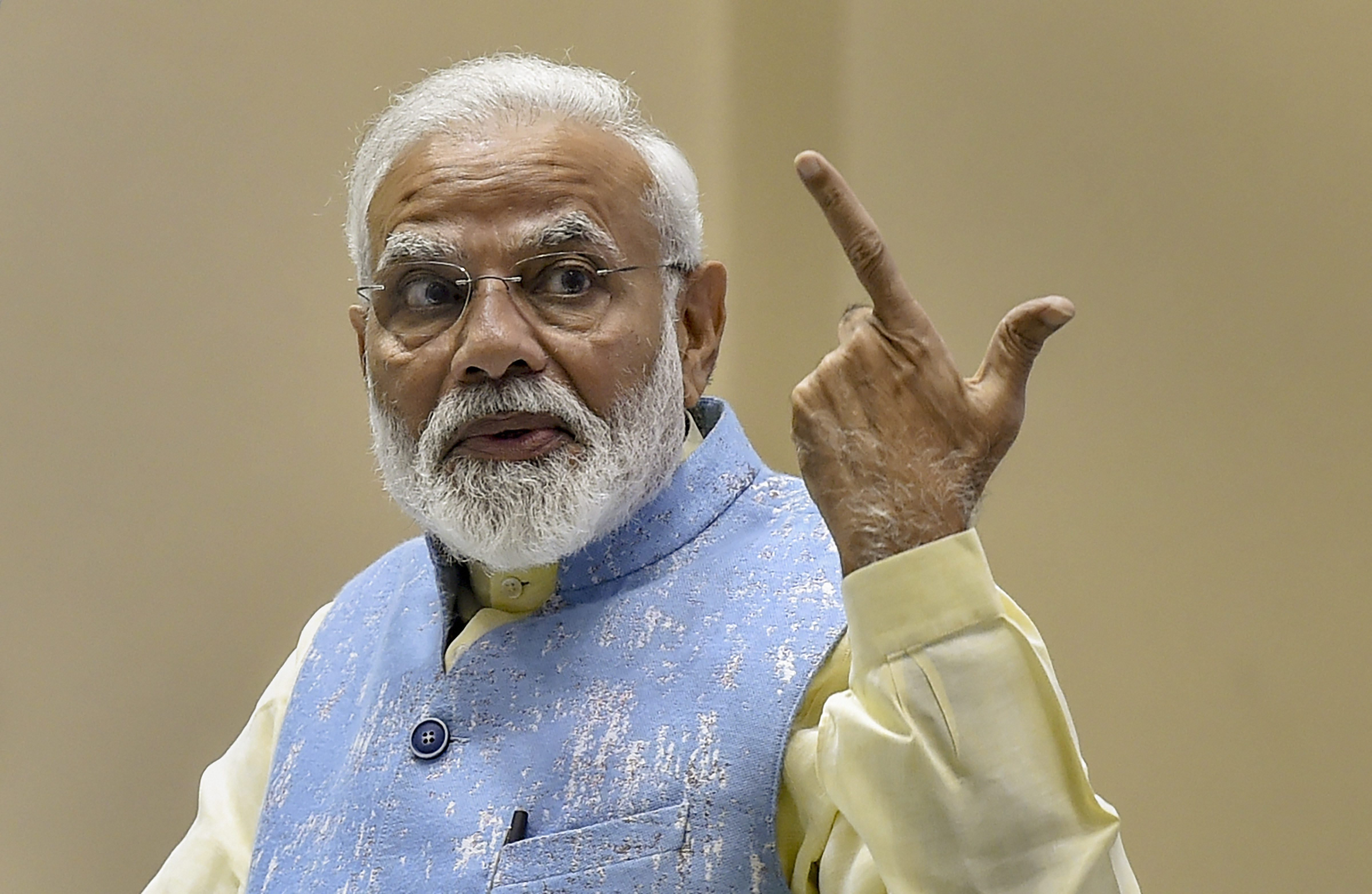 India will fight and win as one: Narendra Modi