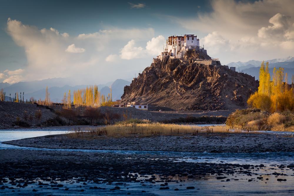 The Buddhist monastery of Stakna in Ladakh