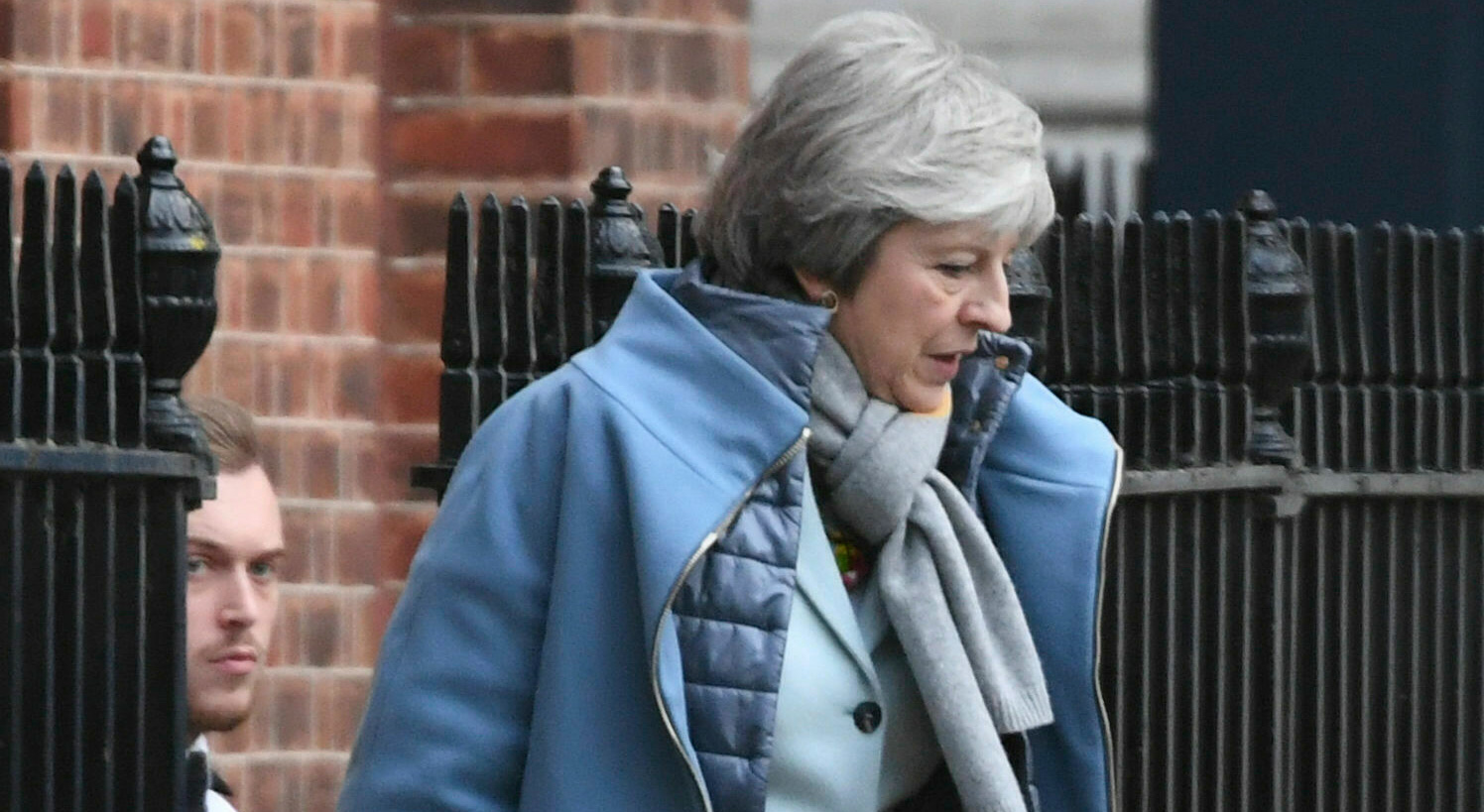 The path before Britain's prime minister, Theresa May, her party and her country seems to be riddled with potholes