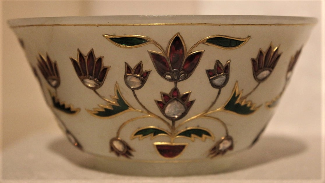 Jade bowl, late Mughal period, National Museum
