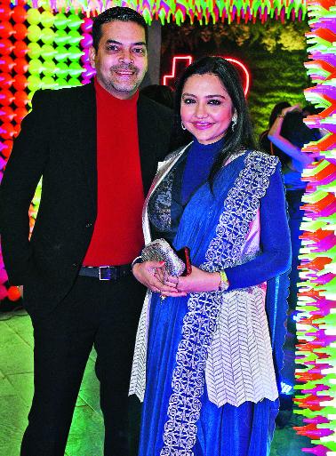 June and Saurav Chatterjee