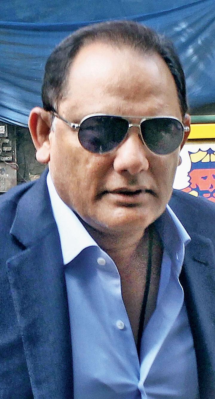 Mohammed Azharuddin during the AGM