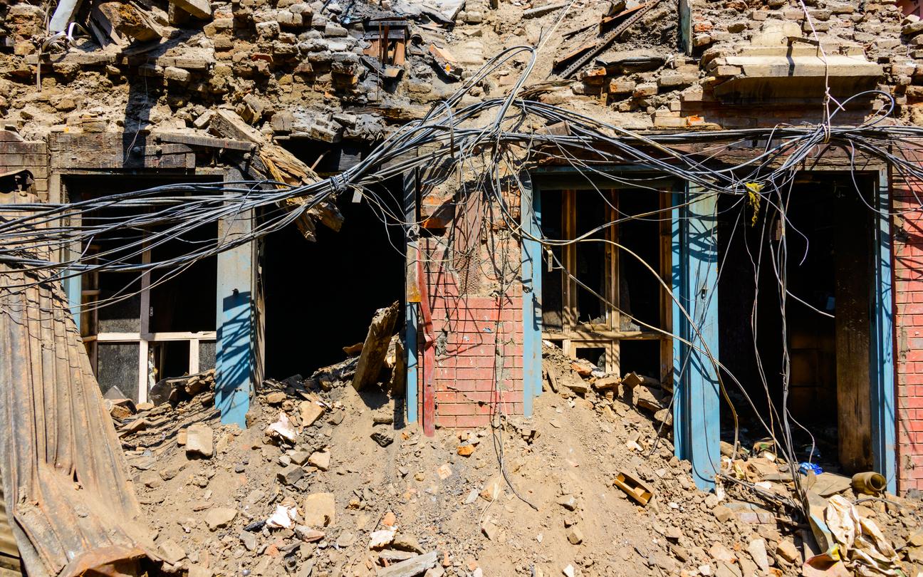 Representative image: Investigators have found cracks in some rural houses and damage on some livestock sheds