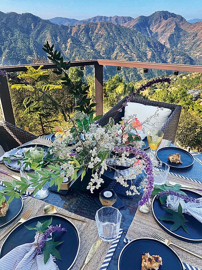 A look at Swapan Seth's pad in Naldhera, Himachal Pradesh
