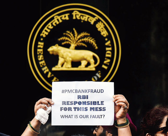 PMC Bank's bad health can be attributed to its exposure to near-bankrupt realty player HDIL, to which it has lent over 70 per cent of its Rs 9,000 crore in advances.