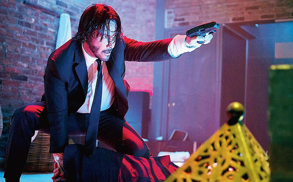 Keanu Reeves returns in John Wick: Chapter 3