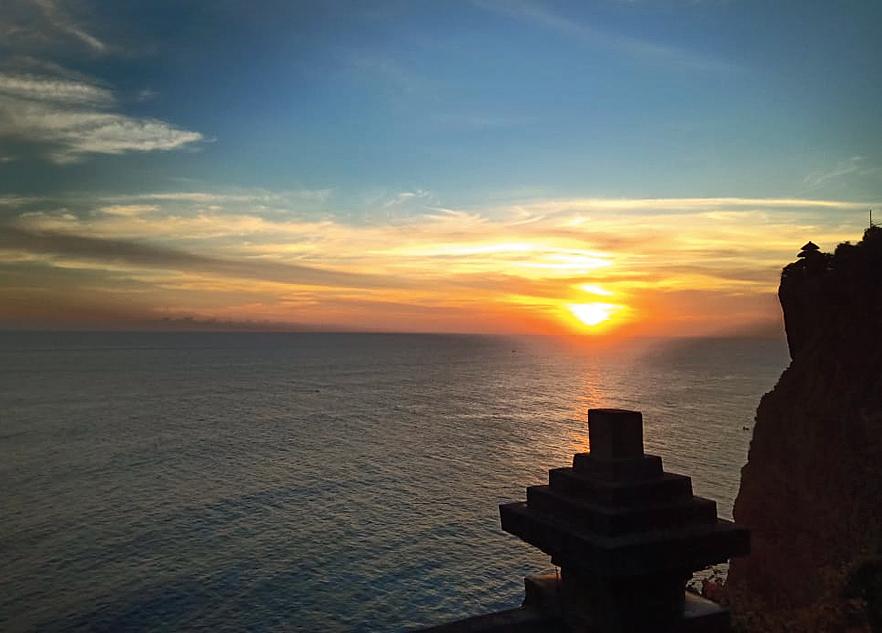 Sunset from the Uluwatu Temple