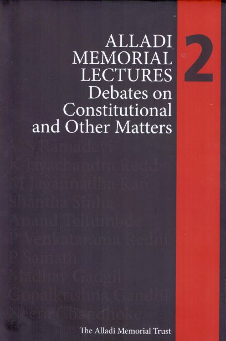 Alladi Memorial Lectures 2: Debates on Constitutional and Other Matters, Tulika, Rs 695