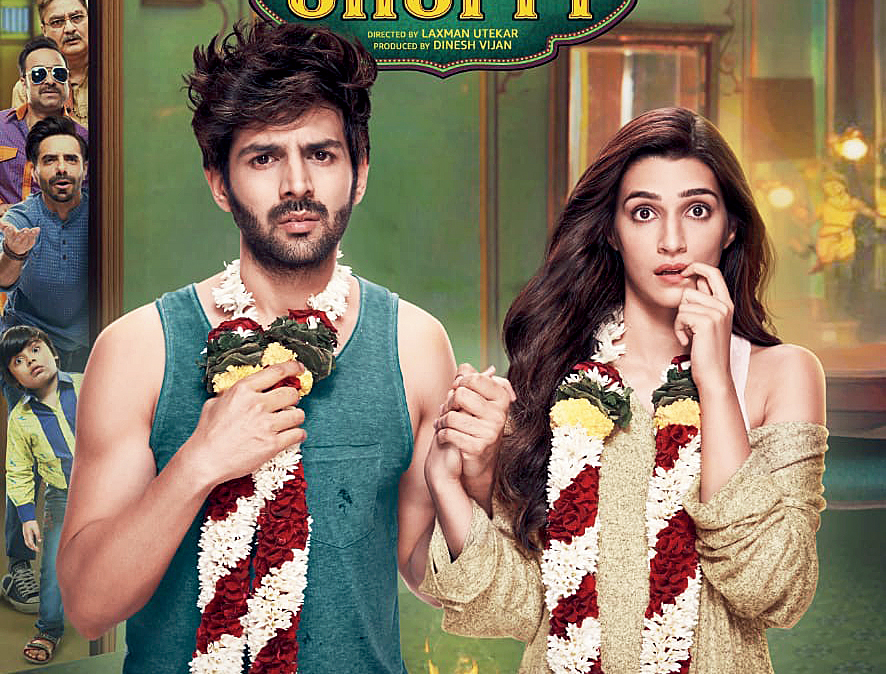 I love commercial films, that's what I have grown up with but I love good stories. Luka Chuppi is a comedy of errors that's very modern and not illogical. It has a message but it's not preachy