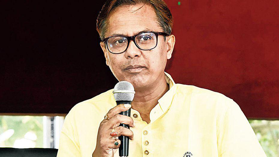 Local BJP legislator Shiladitya Deb