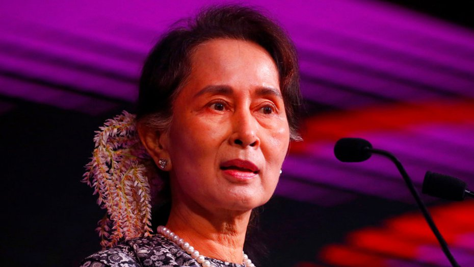 """The Red Cross display in the mall graphically gave the lie to Suu Kyi's claim that the Myanmar government had not engaged in any """"armed clashes or clearance operations"""" targeting the Rohingya."""