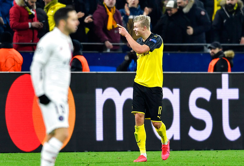 Borussia Dortmund S Erling Braut Haaland Looks Beyond Wonder Run Against Paris Saint Germain In Uefa Champions League Telegraph India