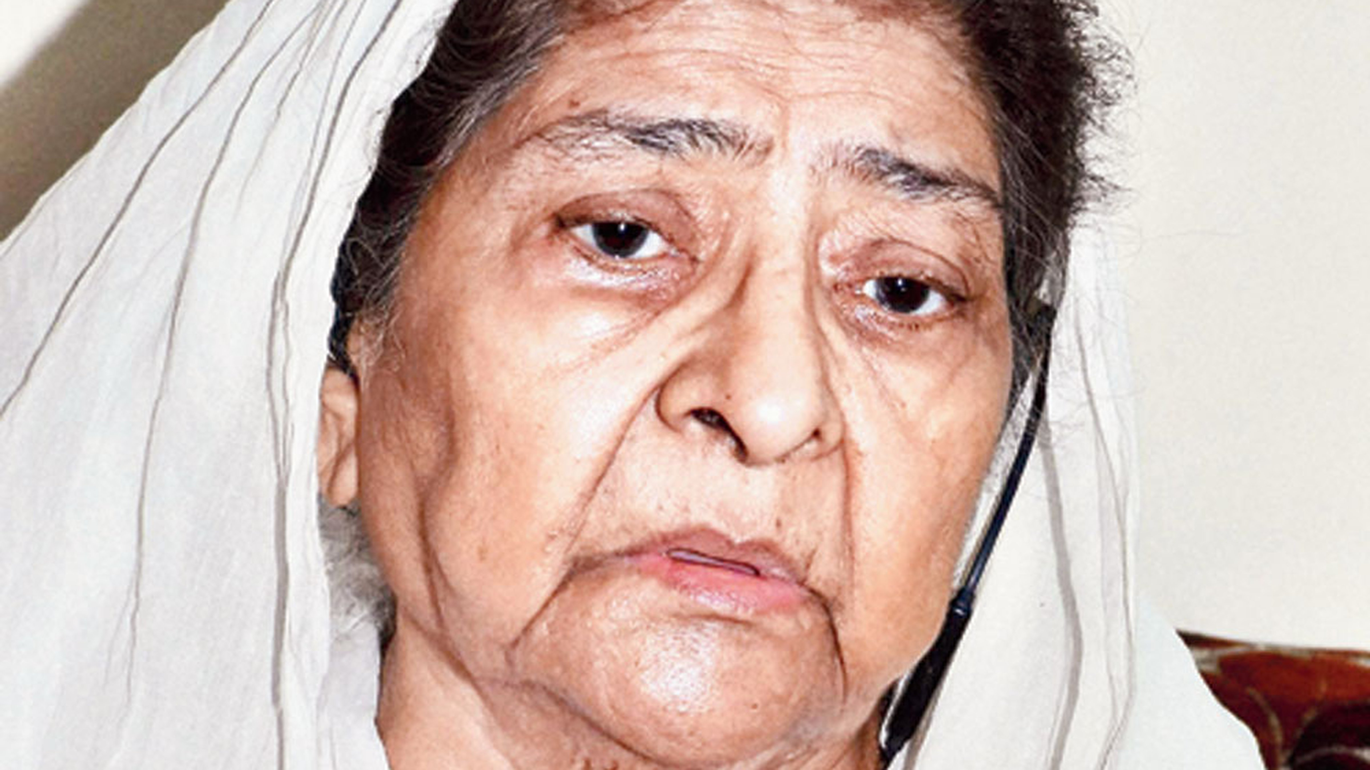 Zakia Jafri, the wife of ex-MP Ehsan Jafri who was one of the 68 killed in Ahmedabad's Gulberg society during the Gujarat riots.