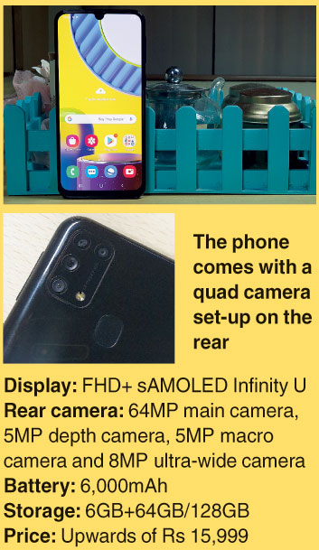 Specs for the Samsung Galaxy M31