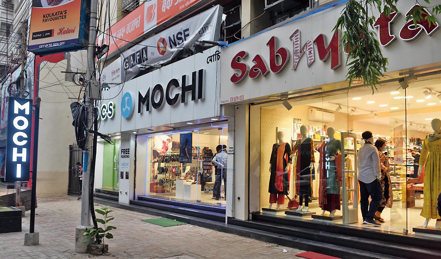 Stores on Camac Street on Monday.