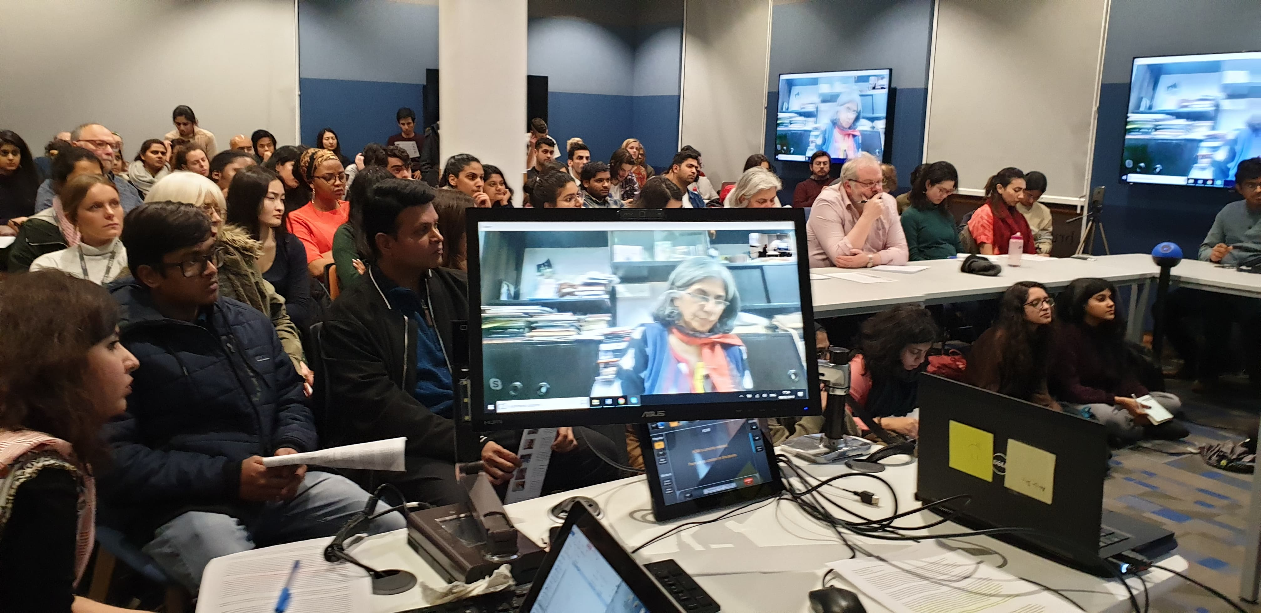 A discussion organised by the SOAS Indian Society, titled 'Violence and Dissent in Modi's India', held in London in February 2019