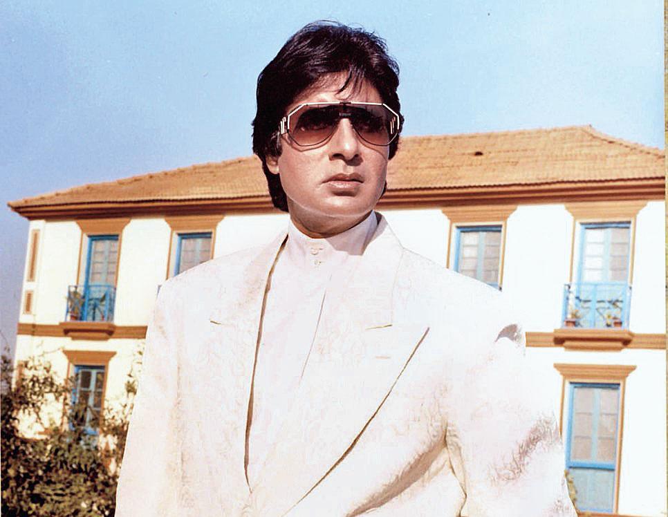 Amitabh Bachchan in a scene from Agneepath