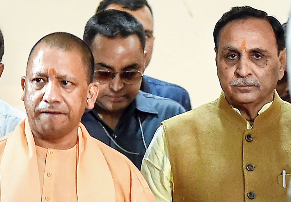 Rupani on mission to heal UP