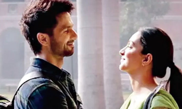 Kiara Advani with Shahid Kapoor in Kabir Singh, releasing on June 21