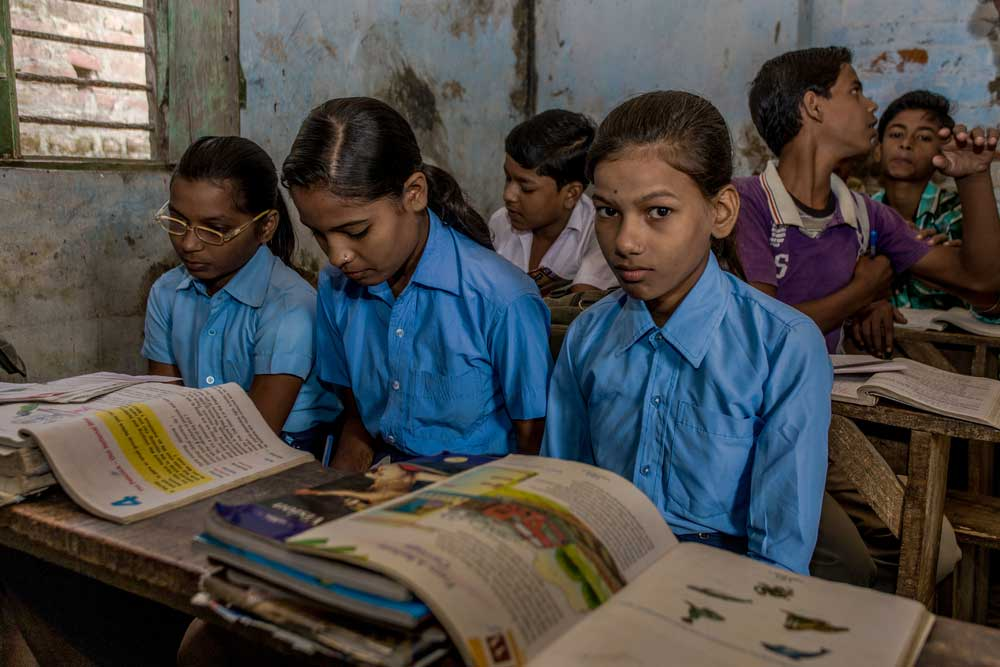 A parliamentary panel on education recently revealed that almost half of India's government schools have neither electricity nor proper playgrounds.