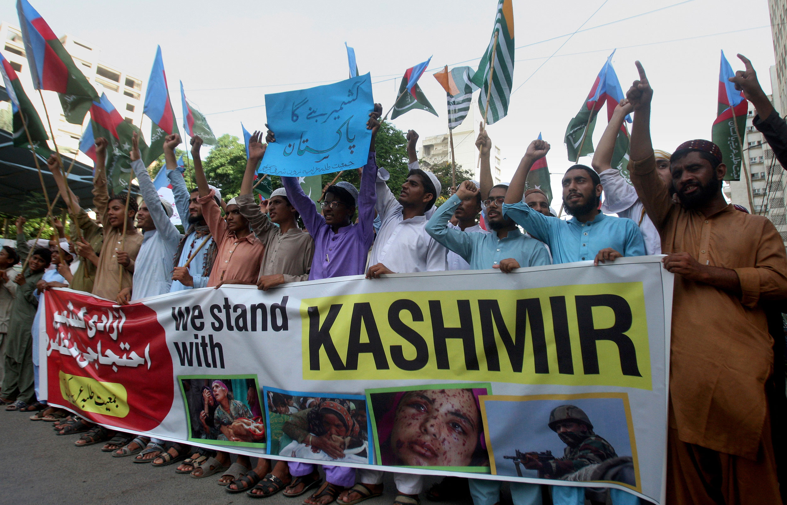 Pakistan is not helping the people of Jammu and Kashmir