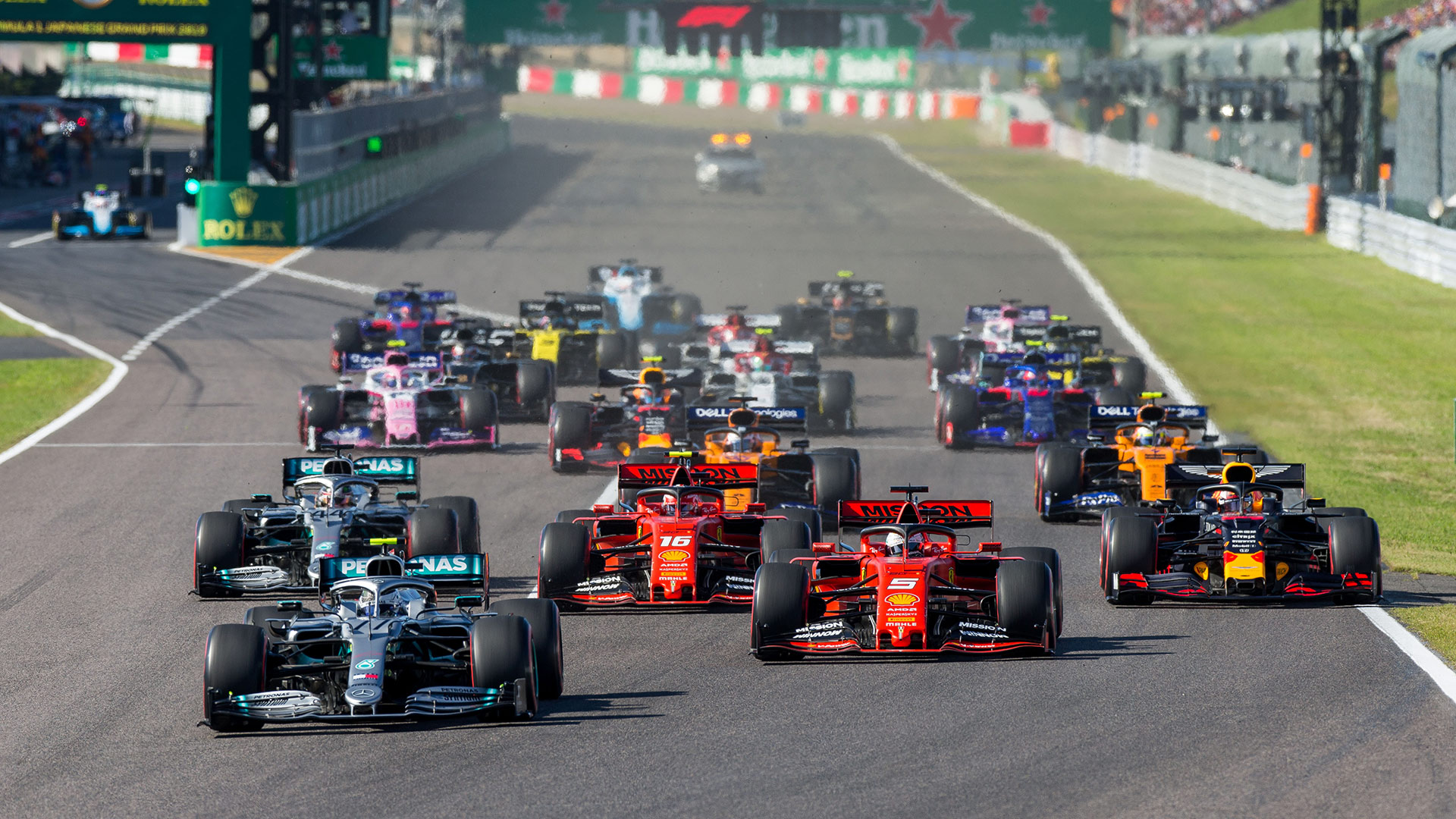 """Xu Bin, head of the Shanghai Sports Bureau, confirmed F1's offer of a two-race format. """"We would be allowed to hold the events at a suitable time in the pandemic,"""" he said."""