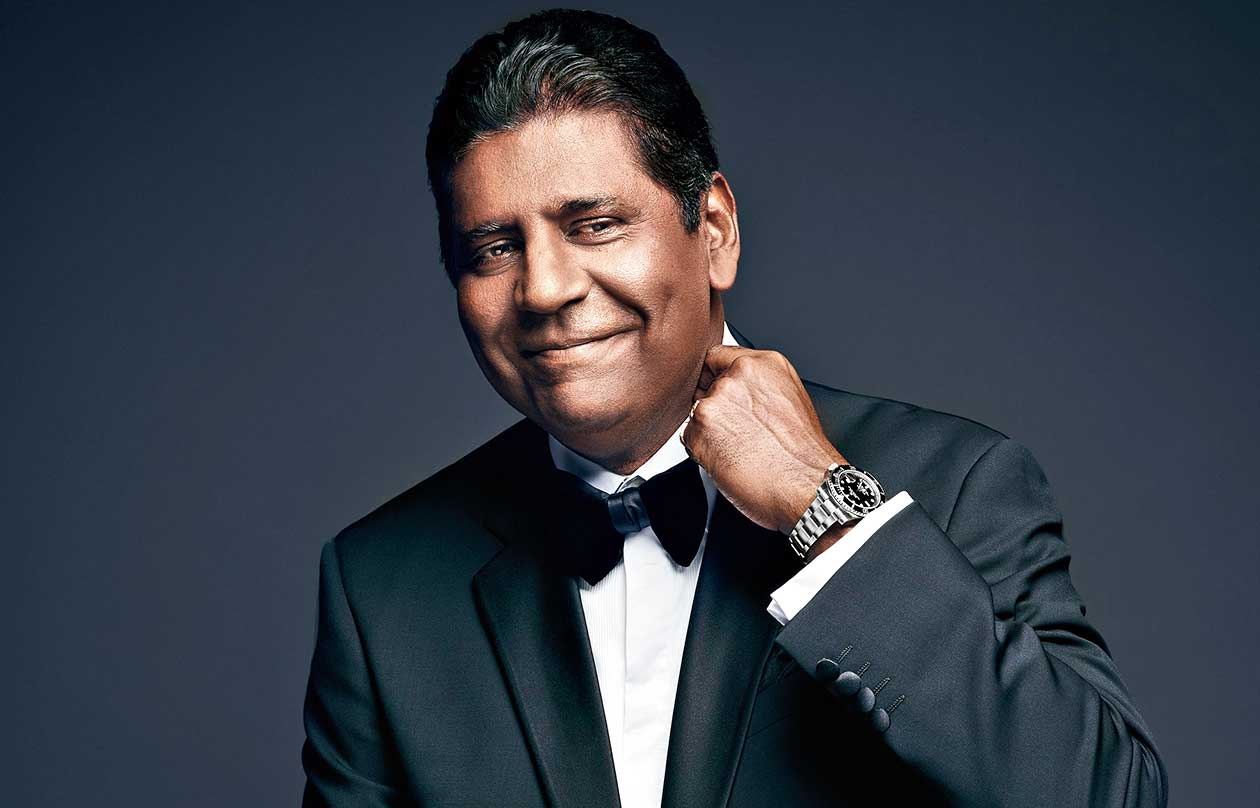 Vijay in his Rolex testimonee avatar. The watch giant has been the official timekeeper at Wimbledon since 1978