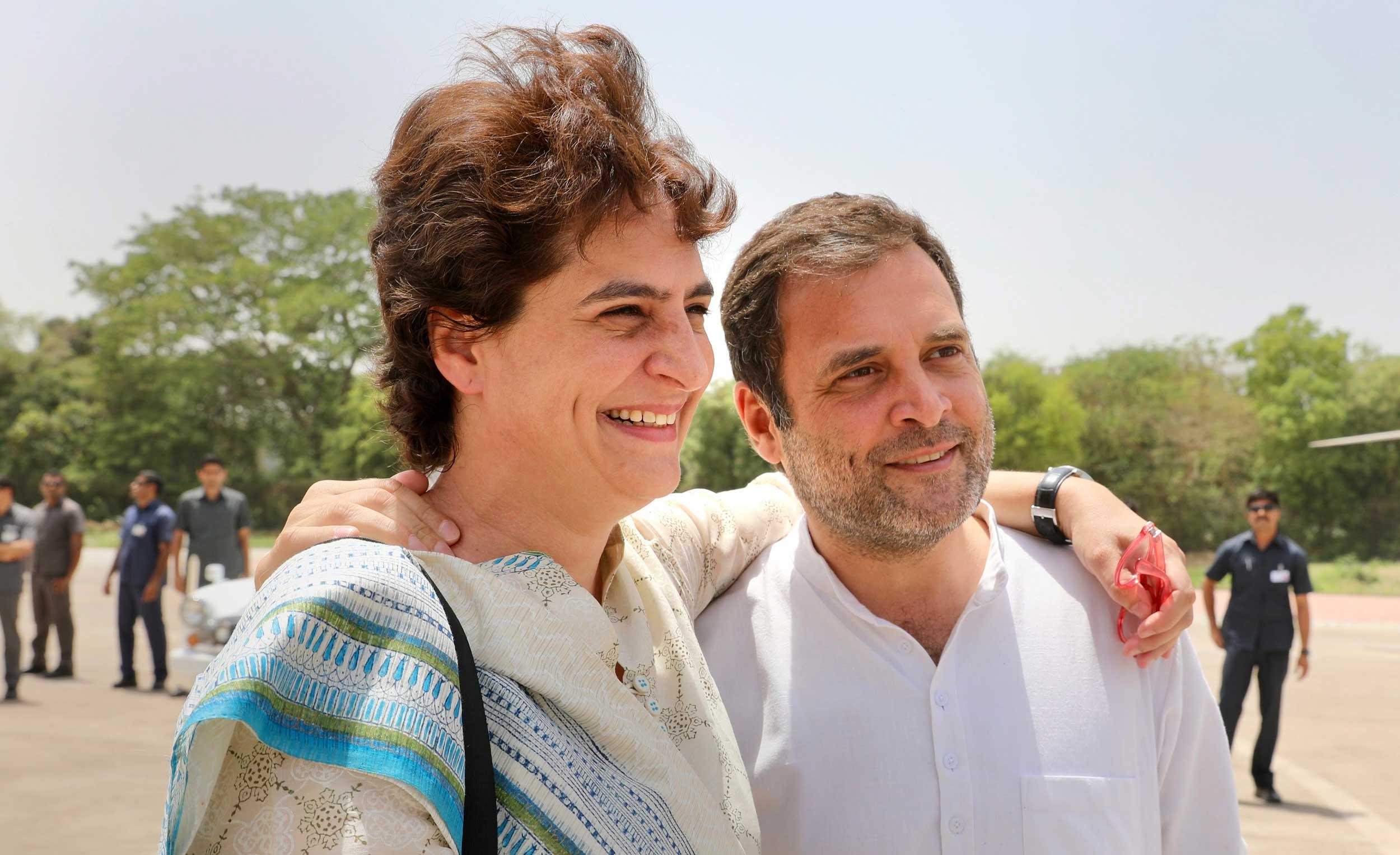 Congress leader Priyanka Gandhi Vadra said
