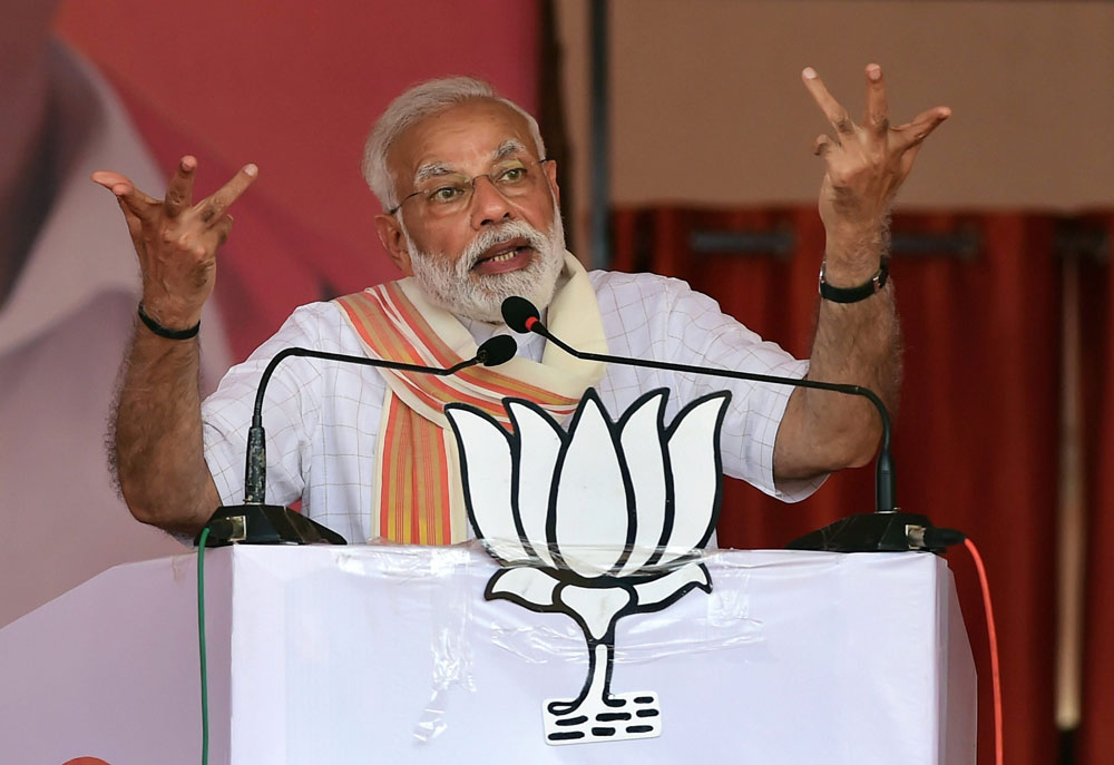 Prime Minister Narendra Modi responded to the Congress's assertion that surgical strikes had taken place even during the reign of the United Progressive Alliance by suggesting that the covert operations must have been conducted in video games.